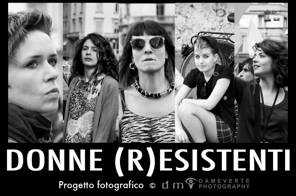 donne (r)esistenti flyer