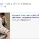 Le pagine sessiste di Facebook